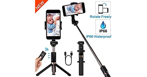 Yokkao Selfie Stick Bluetooth Selfie Stick only $10.39