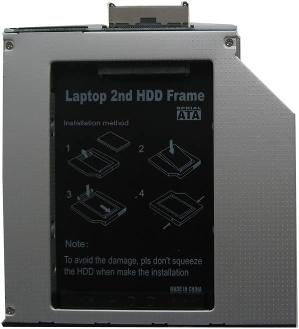 Generic 2nd Hard Drive HDD Caddy Adapter for Hp Compaq Nw8440 Nw9440 Nx6325 Nx7400 Nx9420
