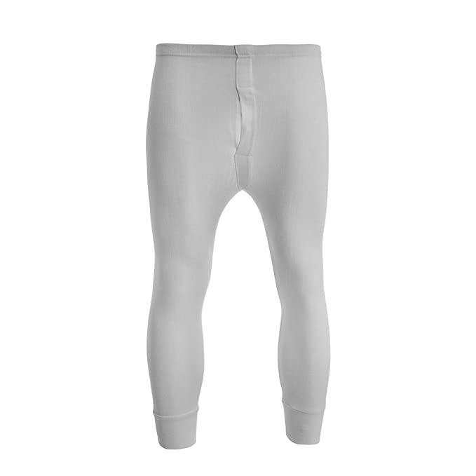 Brody & Co. - Pantalón térmico - para Hombre Blanco Blanco L ...