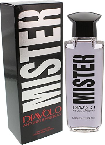 Antonio Banderas Mister Diavolo Eau de Toilette Spray for Men, 3.4 Ounce