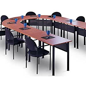 Amazoncom U Shaped Conference Room Table Training Tables Set - Conference room table and chairs set