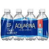 Aquafina Purified Drinking Water (8 Count, 12 Fl Oz Each)