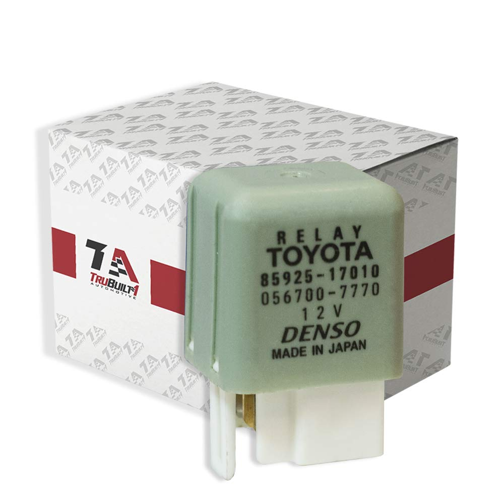 T1A 85925-17010 Toyota Lexus 12V Ignition Cooling Blower Radiator Fan Relay TruBuilt 1 Automotive