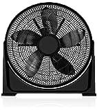 Black+Decker 16 Inch Box Fan, FB1620-B5, Black, 2 Year Manufacturer's Warranty