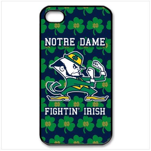 Amazon.com: NCAA Notre Dame Fighting Irish Iphone 4 4s Case Cover ...