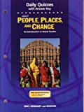 People, Places and Change, Holt, Rinehart and Winston Staff, 0030666945