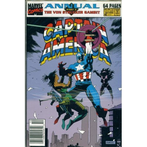 Captain America Annual #10: The Von Strucker Gambit Part 3 - Call of Duty
