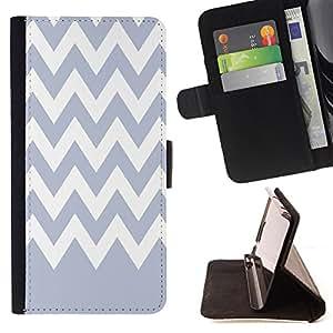 King Case - FOR Sony Xperia Z3 D6603 - Purple romantic - Prima caja de la PU billetera de cuero con ranuras para tarjetas, efectivo Compartimiento desmontable y correa para la mu?eca