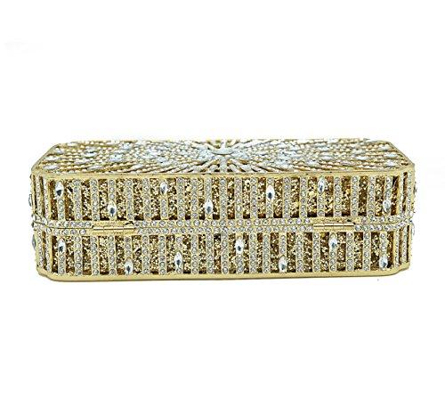 Pleine Pochette Strass Main gold De En Soirée Banquet De à Pour Cristal Petit De Dames Sac Luxe Mode Chaîne Dîner De Sac En Sac De Sac Xg8qnPYX