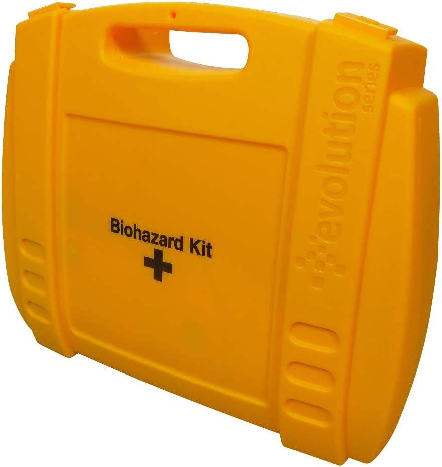 6 Applications Safety First Aid Group K396 HypaClean Body Fluid Disposal Kit