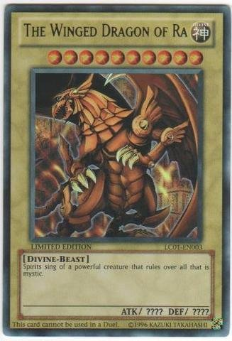 Yu-Gi-Oh! - The Winged Dragon of Ra (LC01-EN003) - Legendary Collection - Limited Edition - Ultra Rare by Yu-Gi-Oh!