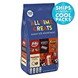 Hershey All Time Greats Chocolate Candy Assortment (HERSHEY'S, REESE'S, KIT KAT, WHOPPERS), Snack Size, 38.9 oz., 105 Pieces