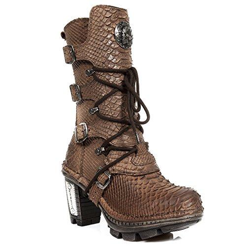 New Rock Handmade M NEOTR005 S17 Braun Damen Stiefel