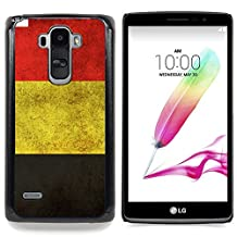 GREAT PHONE CASE GIFT // Mobile Phone Case Hard Case PC Derecative Cover Protective Case for LG G4 Stylus H540 /GERMANY GERMAN GRUNGE FLAG/