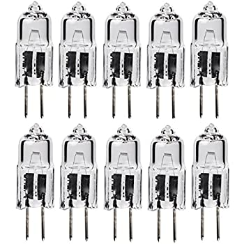 10Pack - 10 Watt T3 G4 Base 12 Volt Light bulb 10W 12V Landscape