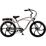 "Pedego Interceptor 26"" Classic Brushed Aluminum with Mag Wheels 48V 10Ah"