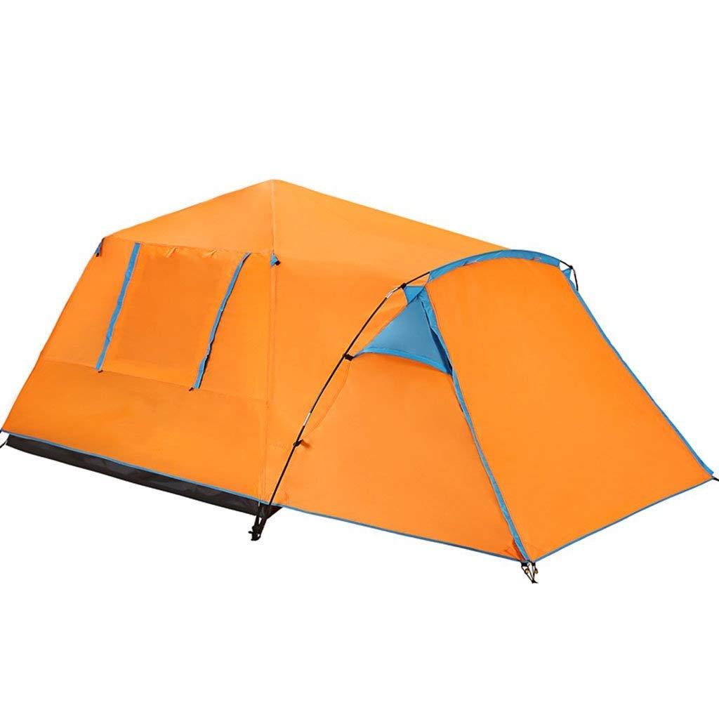 無料発送 3-4人 B07P3JQF59、ディック傘テント :、2色の外の屋外のキャンプテント (色 : Orange) Orange Orange B07P3JQF59, 山川屋オンラインショップ:7185c657 --- ciadaterra.com
