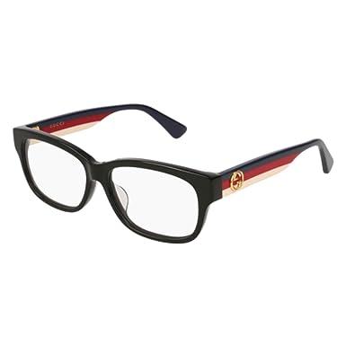 Eyeglasses Gucci GG 0278 OA- 001 BLACK MULTICOLOR  Amazon.co.uk ... c9d4e3c29e8