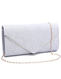 Labair Womens Glitter Eevning Bag Purses and Clutches for Wedding Party.