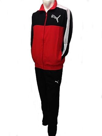 Puma - Chándal - Plumaje - para hombre Rojo Red, black, white ...