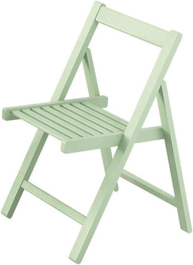 sillas Plegables de Madera Maciza Silla de Comedor sillas Modernas de Oficina en el hogar Patio de jardín portátil Cómoda Outwell Camping Silla de Respaldo Plegable: Amazon.es: Hogar
