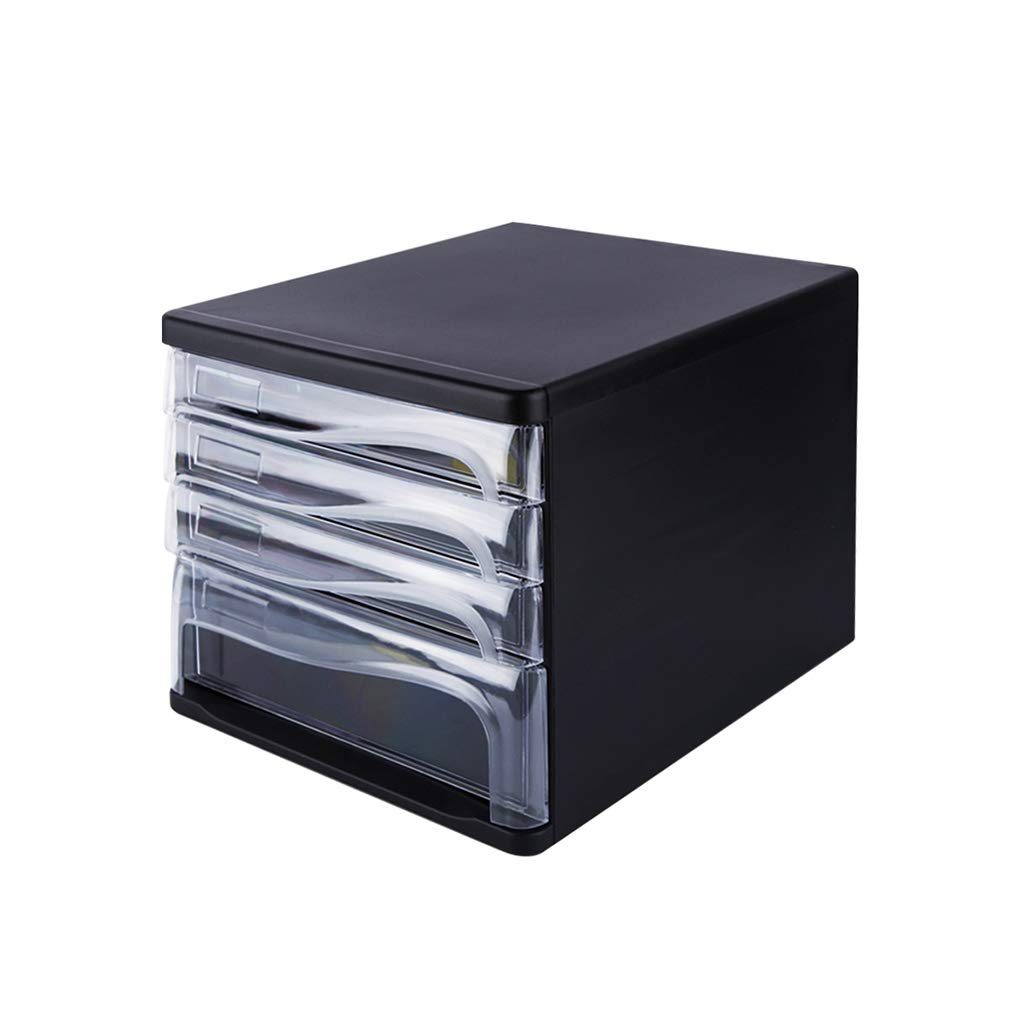 File Cabinet, Desktop Extended Drawer Office Organizer (ABS) 26.53424.8CM (Color : A)