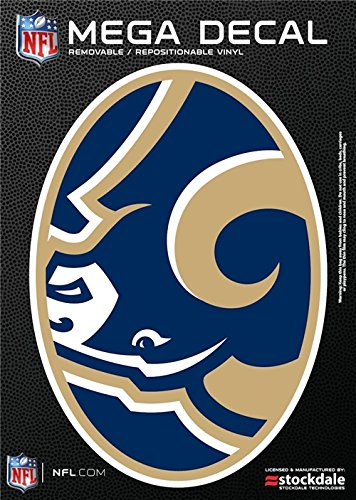 St. Louis Rams 5''x7'' Mega Decal by Stockdale