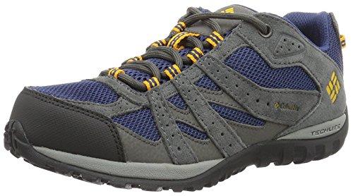 ColumbiaYouth Redmond - Zapatillas de running para chico Azul (Carbon/ Super Solarize)