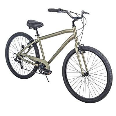 "Huffy'' 27.5"" Parkside SE Mens 7-Speed Comfort Bike with Perfect Fit Frame, Sage"
