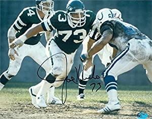 Autograph Warehouse 270426 Joe Klecko Autographed 8 x 10 in. Photo - New York Jets Action Image - No. 5
