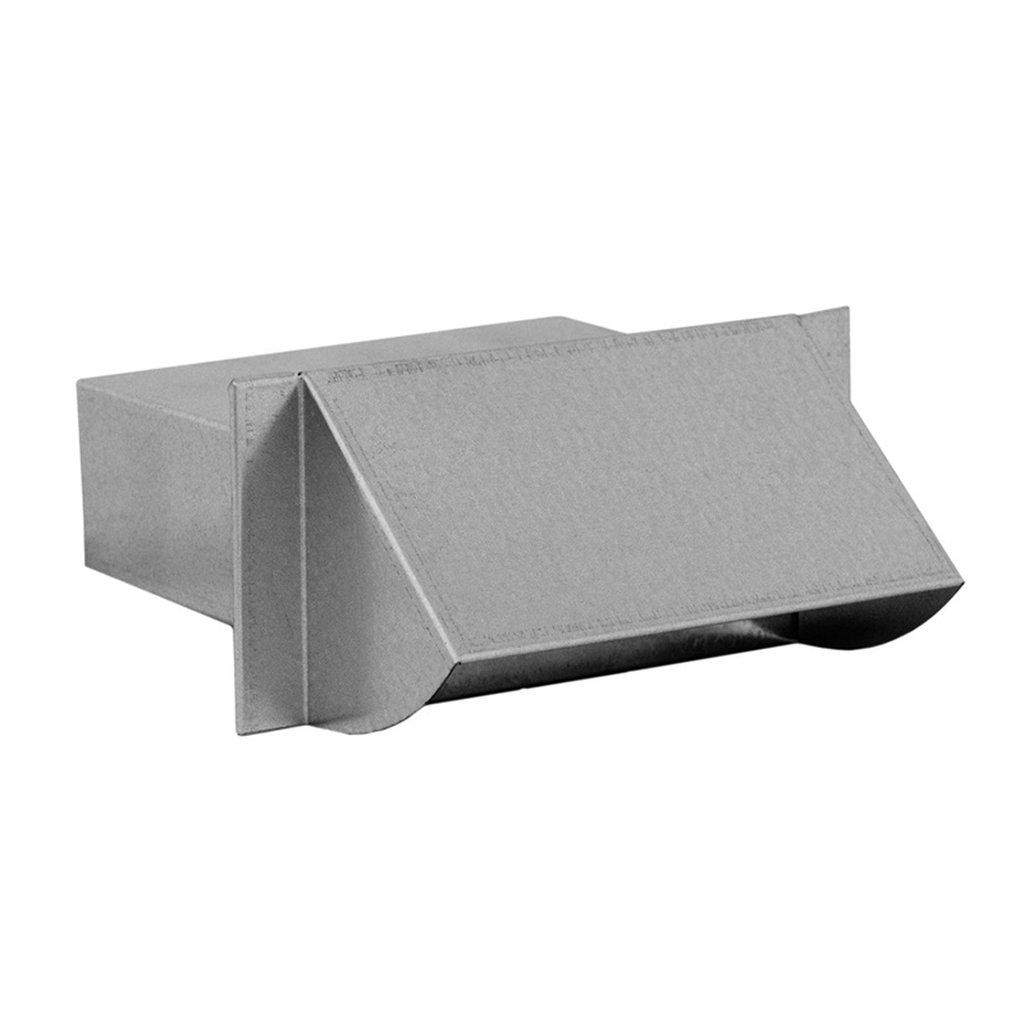 Frischluft Ansaugstutzen f/ür Flachkanal 150 x 50 mm Edelstahl