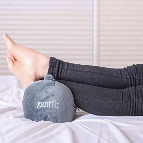 Gentfit Orthopedic Breathable Knee Pillow for Sciatic Nerve Pain Relief, Leg Pain, Back Pain, Pregnancy, Hip and Joint Pain, Memory Form Wedge Contour by Gentfit (Image #5)