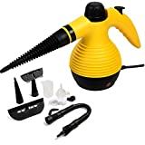 1050w Handheld Steam Cleaner Portable Multi Purpose Steamer W/attachments New