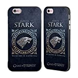 Official HBO Game Of Thrones Stark Metallic Sigils Black Fender Case for Apple iPhone 6 Plus / iPhone 6s Plus