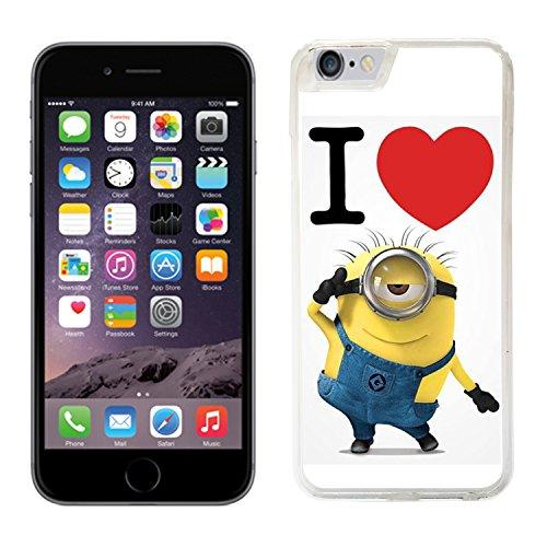 Despicable Me minions pour iphone 6–Film de protection rigide à rabat pour apple i 18 téléphone portable 6
