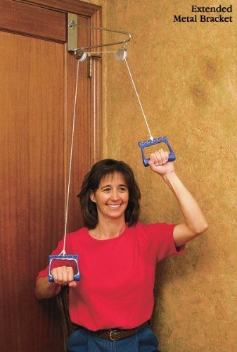 North Coast Medical NC52060 Norco Over Door Exercise Pulley With Extended  Metal Bracket