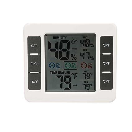 CJ-3316D LCD Digital termómetro higrómetro MAX/MIN Humedad Medidor de temperatura digital para