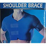 Double Shoulder Protector Brace Adjustable Back Pain Brace (XXXL)
