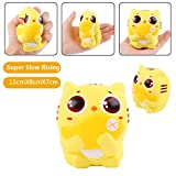 Vigeiya Eat Fish Cat Jumbo Kawaii Squishies Slow Rising Soft Scented Toys Squishy Kids Adult Gift 1PC Random