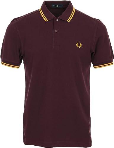 Fred Perry Camisa de Polo para Hombre: Amazon.es: Ropa y accesorios