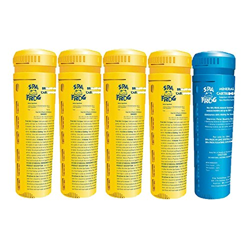 acement cartridges, 4 bromine/ 1 mineral (Spa Frog Bromine Cartridge)