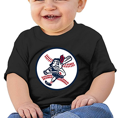 Price comparison product image Boss-Seller Cleveland Team Short-Sleeve Tshirts For 6-24 Months Newborn Baby Size 6 M Black