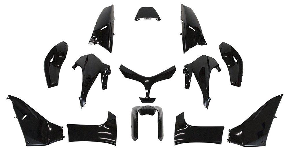 12pcs Rubber Grommet Single Side Panel Fairing Washer for Honda Motorcycles