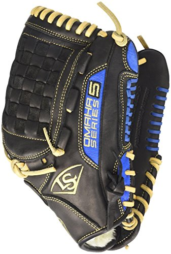 Louisville Slugger Omaha S5 Royal 12 Inch Black with ()