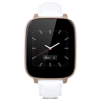 Smart Watch - TOOGOO (R) oro blanco L10 Bluetooth SmartWatch ...