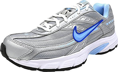 Nike Damen WMNS Initiator (Wide) Traillaufschuhe Silber (Metallic Silver/Ice Blue-white-cool Grey 001)