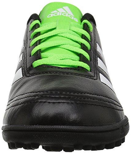 Adidas Mens Goletto Vi Tf Fotboll-skor, Svart / Vit / Sol Grön, 9 M Oss Svart / Vit / Sol Grön