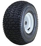 Marathon 13x6.50-6'' Pneumatic (Air Filled) Tire on Wheel, 3'' Hub, 3/4'' Bearings