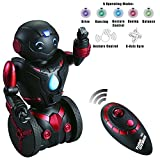 Image of Remote Control Robot Toy for Kids TG634-R - Self Balancing Black & Red Robotic Toy (Version 2!!) – Smart Interactive RC Robot By ThinkGizmos (Trademark Protected)