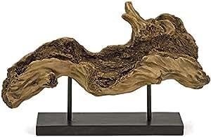 """Davis Driftwood Sculpture, 11""""Hx17.5""""Wx7""""D, BROWN"""